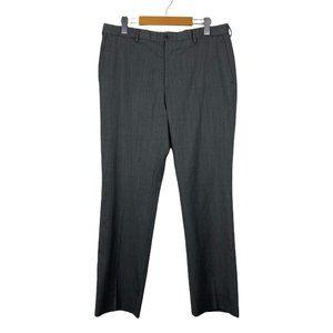 Ralph Lauren Men's Grey Wool Dress Pant US 32